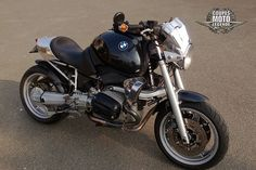 BMW R 1100 R Cafe Racer - Benoit MORTREUX | Flickr - Photo Sharing!