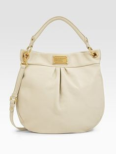 Marc by Marc Jacobs - Classic Q Hiller Hobo $398 - this is so dang pretty.