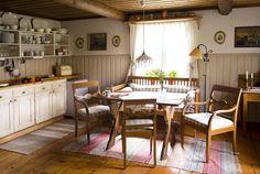 Swedish country kitchen. Dalarna