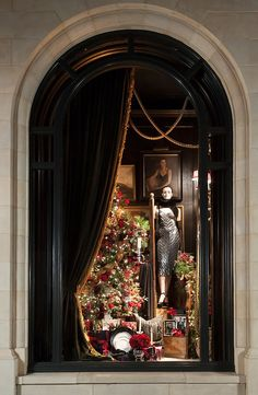 ralph lauren store windows | Ralph Lauren Holiday / Holiday windows at our Ralph Lauren store in ...