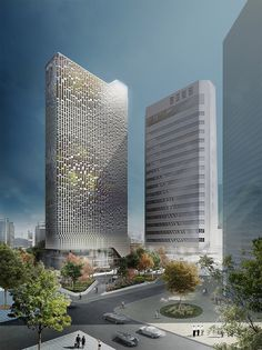 18ad3ddf148 UNStudio wins competition to remodel the hanwha headquarters in seoul