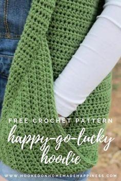 Cardigan Au Crochet, Crochet Hoodie, Crochet Scarves, Crochet Clothes, Booties Crochet, Blanket Crochet, Baby Cardigan, Baby Booties, Easy Crochet Shawl