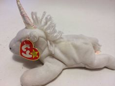 Vitnage Ty Beanie Baby MYSTIC UNICORN 1994 with Swing Tag and Tush Tag  Great Condtion on Etsy 8473950e8353