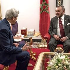 US Secretary of State John Kerry meets with Moroccan King Mohammed VI (317312)