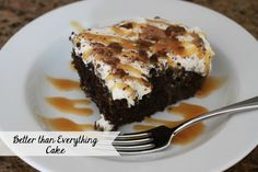 The Larson Lingo: Better than Everything Cake