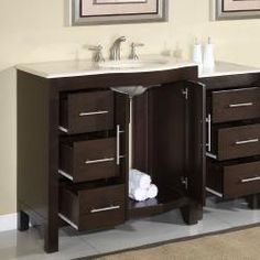 "costco: astoria 42"" single sink vanityvalore 