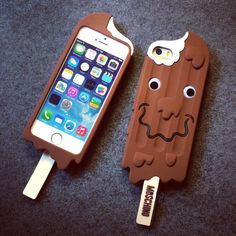 3D Cute Chocolate Pattern Soft Silicone Case Cover