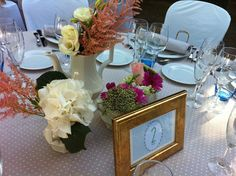 Blog de Organización de Bodas - Wedding Planner Madrid - Centros de Mesa Vintage