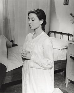 Audrey Hepburn in The Nun's Story | The 31 Most Sinfully Sexy Nuns In Movie History
