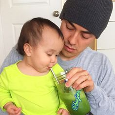 Get them early #greenjuice #healthy #keirabear @itsjudytime