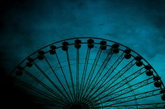 Scary Ferris Wheel Aeroacrophobia Fear of open high places by Pink Sherbet Photography, via Flickr