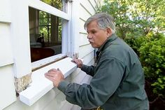 with This Old House general contractor Tom Silva | thisoldhouse.com | from How to Replace a Rotted Windowsill