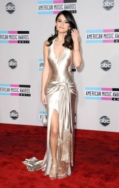 The largest Selena Gomez picture gallery online. 15 Dresses, Formal Dresses, Selena Gomez Daily, Wedding Attire, Wedding Dresses, Before Midnight, American Music Awards, Cool Style, My Style