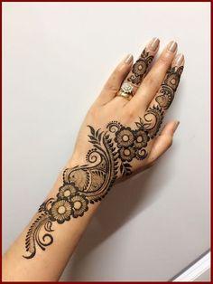 Mehndi is something that every girl want. Arabic mehndi design is another beautiful mehndi design. We will show Arabic Mehndi Designs. Easy Mehndi Designs, Henna Hand Designs, Mehandi Design For Hand, Mehndi Designs Finger, Mehndi Designs For Beginners, Mehndi Design Pictures, Mehndi Designs For Fingers, Latest Mehndi Designs, Henna Tattoo Designs