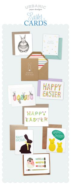 Easter Cards at Urbanic