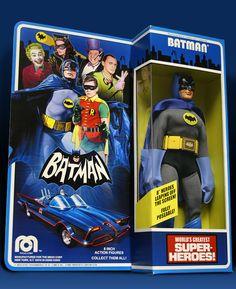 Custom Mego style Adam West Batman figure from Metaluna5shop on eBay