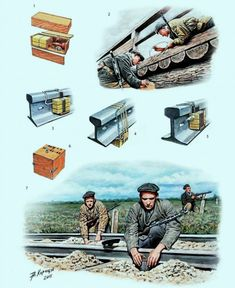 E:Acts of Sabotage. Military Tactics, Military Humor, Military Weapons, Military Art, Military History, Drow Male, Doomsday Bunker, Military Engineering, Ww2 Pictures