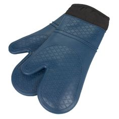 Heat Resistant Quilted Lining Kitchen Oven Mitt Gloves