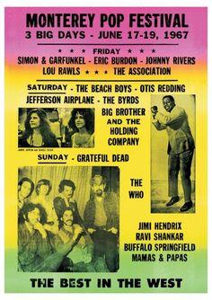 Monterey Pop Festival | Monterey Pop Festival 1967