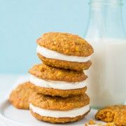 Carrot Cake Cookies with Cream Cheese Frosting   Cooking Classy