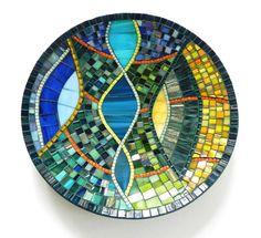 Mosaic Art Mediterranean Mosaic Dish Mosaic by NewArtsonline