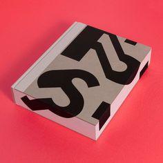 Title: Paula Scher: Works (Hardback edition) [Unit Tony Brook & Adrian ShaughnessyDesign: SpinEdition of Scher is the most Paula Scher, Logos Vintage, Logos Retro, Portfolio Covers, Portfolio Book, Portfolio Layout, Graphic Design Typography, Graphic Design Illustration, 3d Typography