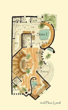 Narrow House Plan Anastasia - aboveallhouseplans.com