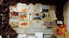 Year 3 Stone Age display. Gemila Boss. Primary School Displays, Display Boards For School, Stone Age, Boss, Gallery Wall, Frame, Picture Frame, Frames, Hoop