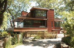 House in Ward's Island , Toronto : Core Architects INC