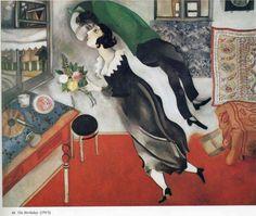 Marc Chagall - The Birthday, 1915