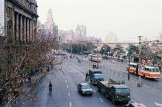 Shanghai image in early Shanghai Image, Shanghai Bund, Shanghai City, The Bund, Street View, 1980s