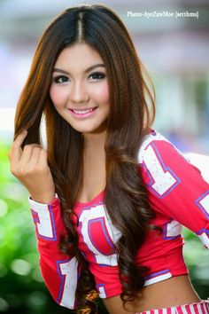 May Myint Moh, Cute Smile and Fashion Model - Sexy Myanmar Gilrs, Model, Actress and Singer