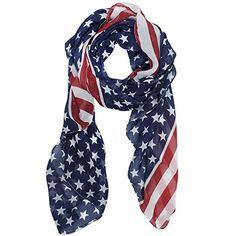 eFuture(TM) Blue & Red Unisex Fashion Charming Patriotic US American Star Flag Chiffon Scarf Shawl Long Scarf Wrap +eFuture's nice Keyring Kobwa http://www.amazon.com/dp/B00GOQ3XKI/ref=cm_sw_r_pi_dp_ifcEvb0GTGQ5N