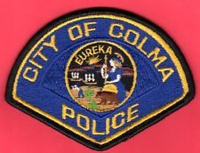 Colma California Police Patch
