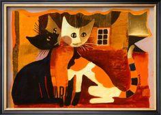Cat Love by Rosina Wachtmeister