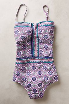 Shop the Nanette Lepore Mallorca Mosaic One-Piece  and more Anthropologie at Anthropologie today. Read customer reviews, discover product details and more.