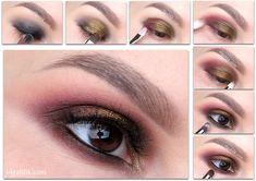 Olga Blik   Natasha Denona Star Palette Smokey Eye Tutorial   olgablik.com