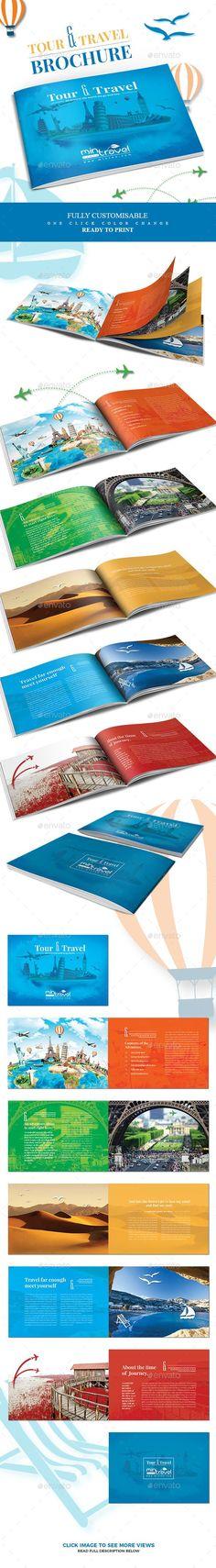 Tour and Tourism Brochure - #Informational #Brochures