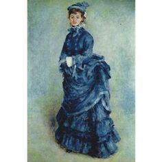 Renoir The Lady in Blue