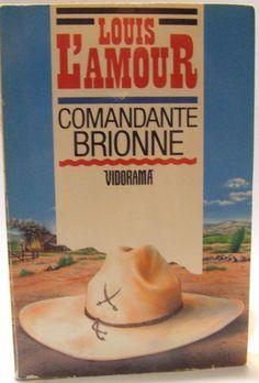 Louis L Amour Spanish Language Western Book Comandante Brionne Frontier Revenge