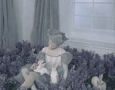 Iekeliene Stange by Tim Walker for Jo Malone's Wild Bluebell Fragrance ad campaign. Walker my god Wild Bluebell, Tim Walker Photography, Were All Mad Here, Jo Malone, Man Ray, Through The Looking Glass, Fairy Land, Lily Of The Valley, Love At First Sight