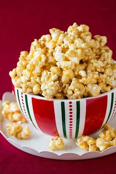 Salted Caramel Popcorn (the chewy sticky kind)