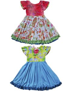 fc83115e278 Dresses For Tweens Twirly 2 Way Design Unique Colorful Fun