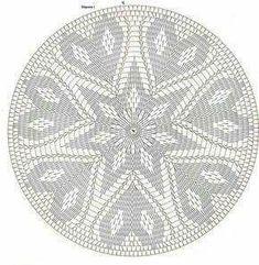 Only Crochet Patterns Archives – Beautiful Crochet Patterns and Knitting Patterns – mahimah nemati - Crochet Filet Crochet, Mandala Au Crochet, Tapestry Crochet Patterns, Crochet Doily Diagram, Crochet Circles, Crochet Round, Crochet Chart, Crochet Home, Thread Crochet