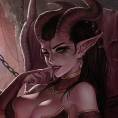 Succubus (Commission), Mirco Cabbia on ArtStation at https://www.artstation.com/artwork/4vAP8