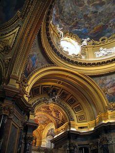 Capilla del Palacio Real de Madrid, España.