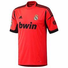 Camiseta del Real Madrid 2012 2013 Portero Segunda Portero Del Real Madrid 8140e3b89103e