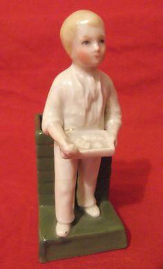 Antique Conta & Boehme Bisque Porcelain Match Striker, Fairing 4101, 1894