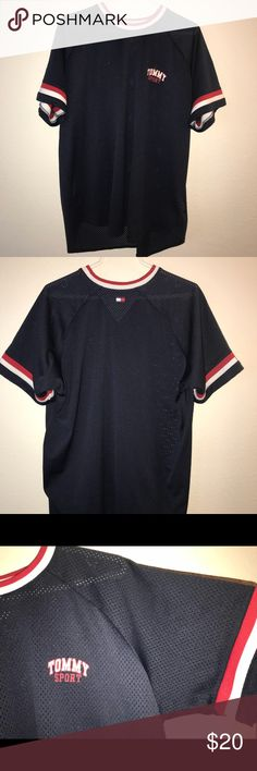 Tommy Sport Net jersey shirt Tommy Sport - Made in Taiwan Tommy Hilfiger Tops