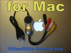 EzCAP video capture card with VideoGlide license key for MAC Video Capture, The Ordinary, Mac, Cards, Computers, Electronics, Products, Consumer Electronics, Maps